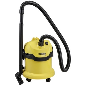Karcher WD2 Multi-Purpose Wet and Dry Vacuum Cleaner (Yellow)