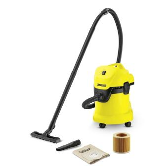 Karcher WD3 Wet and Dry Vacuum Cleaner Yellow