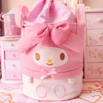 Harga Melody cute beam port pouch multi-function drawstring beam portstorage bag hand carry hanging boxes storage bag