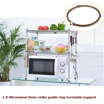 Microwave Oven Roller Guide Ring Turntable Support Plate Rotating 23.4Cm (A64) - intl