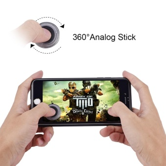 1PC Game Sucker Joystick Mini Touch Screen Stick Rocker Controller For Mobile Phones Tablets - intl