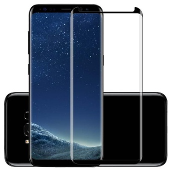 3D Curved Tempered Glass Screen Protector Film for Samsung Galaxy S8 Plus Film - intl