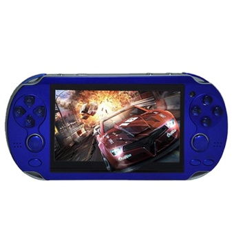 4.3'' PSP Portable Handheld Game Console Player 300 Games Built-in Video Camera Blue - intl