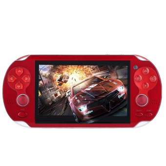 4.3'' PSP Portable Handheld Game Console Player 300 Games Built-in Video Camera Red - intl