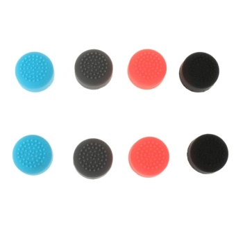 4pair Antiskid Thumb Grip Joystick Caps for Nintendo Switch Joy-Con Controller   - intl