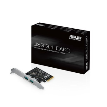 Asus USB3.1 2 Port PCI-E Type-A Card