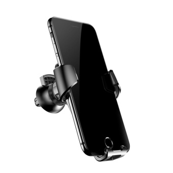 Baseus Gravity Car Phone Mount Stand Holder For iPhone 7 6 6s Plus Samsung S8 S7 Black - intl