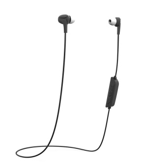 Black Bluetooth 4.0 stereo Headset HiFi Stereo Earphone for iOS Android phones - intl