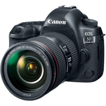 Canon EOS 5D Mark IV with 24-105mm f/4L IS II USM Lens - intl