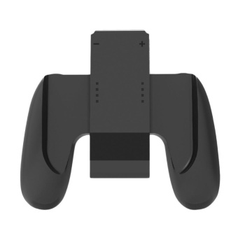 Charging Hand Grip Gamepad Holder for Nintendo Switch NS NX 2017 Joy Con (Black) - intl