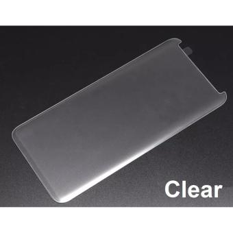 (Clear) 9H Case Friendly Full Coverage Tempered Glass Screen Protector for Samsung Galaxy S8 Plus