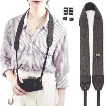 Cotton Soft Universal Camera Shoulder Neck Strap For SLR DSLR Camera 120cm Strap - intl