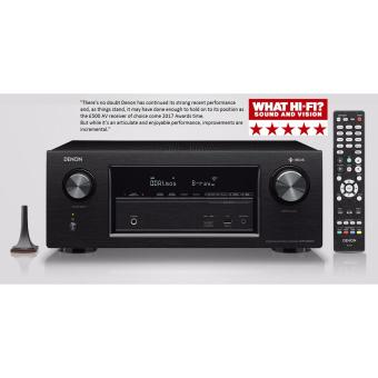 Harga Denon 7.2 Channel Dolby Atoms AV Receiver AVR-X2400H (Black)