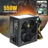 Details about 550W 550 Watt 120mm Fan ATX SATA PCI-E Power Supply for Intel AMD PC Unit 500w - intl