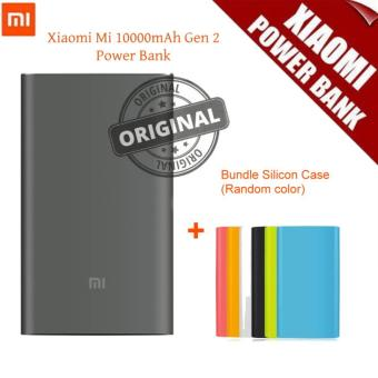 Harga (Export) Xiaomi Mi Power Bank 2 10000mAh Quick Charge Portable Charger (Black)