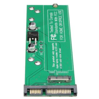 For 12+6pin Apple Macbook Air 2010 2011 SSD To 22pin SATA Converter Adapter Card