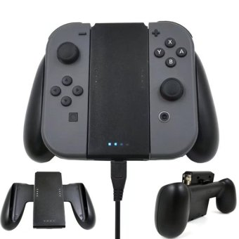 For Nintend Switch Chargeable Left Right Comfort Hand Grip Holder for Nintendo Switch Joy-Con NS Handle Grip Controller Charger - intl