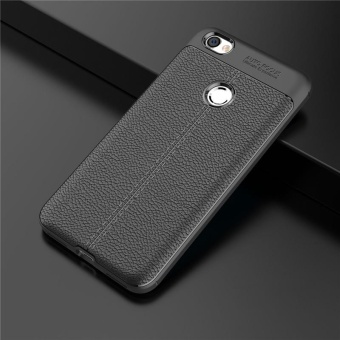 For Xiaomi Redmi Note 5A Prime Leather Pattern Soft Silicone TPU Case Cover - intl