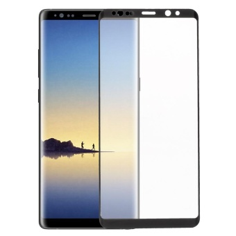 Full Coverage Tempered Glass Screen Protector for Samsung Galaxy Note 8 N950 - Black