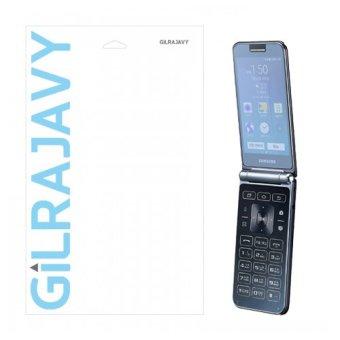 gilrajavy Liphobia Screen Protector with HD Clear shield film Anti- fingerprint for Samsung Galaxy Folder