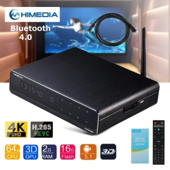 Best price HiMedia Q10 PRO Android UHD Media Player Quad Core 4K TV
