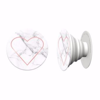 Harga Popsockets ( Stony Heart ) Anti drop phone grip / wrap / stand for smartphone , Iphone , samsung