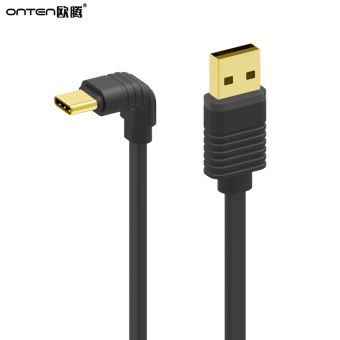 Harga Europe teng USB3.1Type-c music mobile phone MILLET data cable 4c ONE plus 2 car charger cable 90 degree elbow
