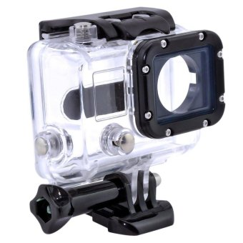 Harga 40M Waterproof Case for GoPro Hero 3 Black Sliver Camera GoPro 3 Case Accessories - intl
