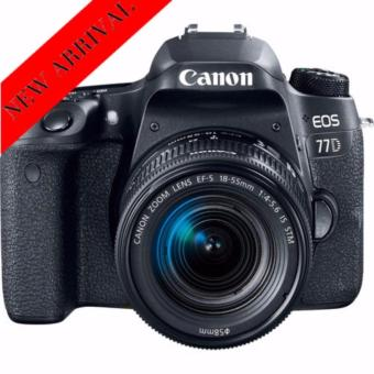 Harga Canon EOS 77D+EF-S 18-55mm IS STM+EF 75-300mm f/4-5.6 III twin lens kit