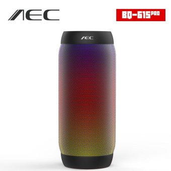 Harga AEC BQ-615 colorful Water Resistant Bluetooth Speaker Wireless NFC Super Bass Subwoofer Outdoor Sport Sound Box FM Portable Speaker - intl