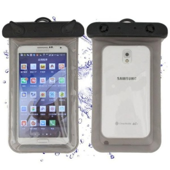 Harga Big Waterproof Pouch Bag Case Cover For *IPhone Cell Phone Touchscreen - intl
