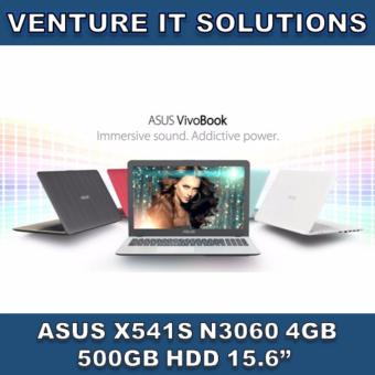 "Harga ASUS X541S-AXX344T / INTEL CELERON N3060 1.6 GHZ MAX 2.48 GHZ / 4GB RAM / 500GB HDD / INTEL HD GRAPHICS / 15.6"" LED HD DISPLAY / WINDOWS 10 (BLACK)"