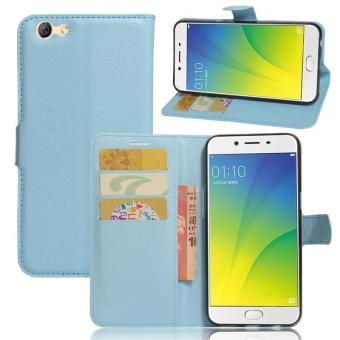 Harga BYT Leather Flip Cover Case for Oppo R9s - intl