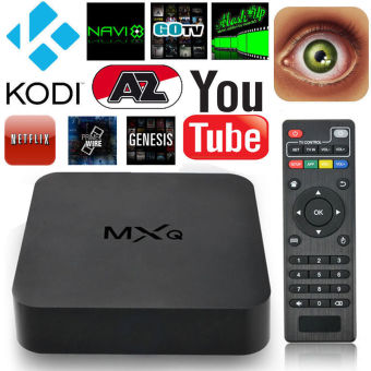 Harga MXQ S805 Android 4.4 Quad Core WiFi XBMC Kodi 1080P Smart TV Box 8GB Media