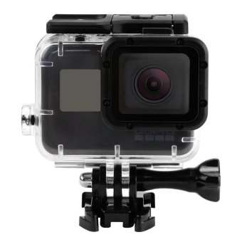 Harga JQAIQ 45m Waterproof Case for Gopro Hero 5 Black Edition Go Pro 5 Case Mount Protective Housing Cover Gopro HERO5 Accessories - intl