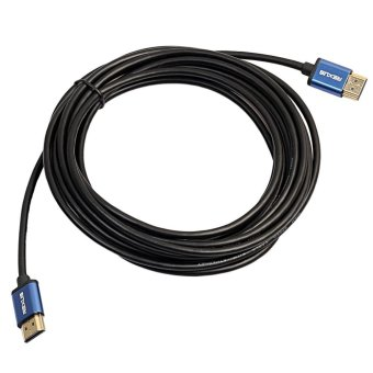 Harga 1.8M High Speed Aluminum HDMI Male to HDMI Cable 1080P 3D for HD TV - intl