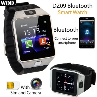 Harga Bluetooth Smart Watch Camera for Android iPhone Samsung LG SonyFree 2016 - intl