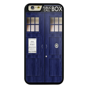 Harga Black Case phone case cover for iPhone 5/5s/SE for apple 52x72 dr who