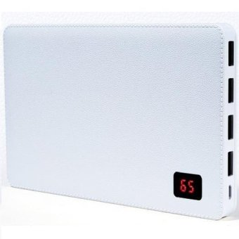 Harga Remax Proda 30000mAh Powerbank External Battery Charger Notebook 4 USB Ports White