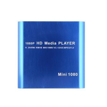 Harga Allwin US Mini 1080P Full HD Media Player-With MKV/RM-SD/USB HDD-HDMI Function US
