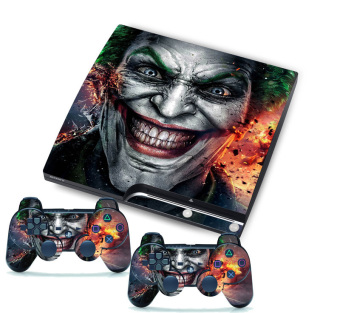 Harga Joker for PlayStation 3 PS3 Slim 2 Controller Skins Awsome Custom Stickers Skins (EXPORT)