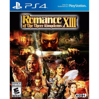 Harga PS4 Romance of the Three Kingdoms XIII (R3 English)
