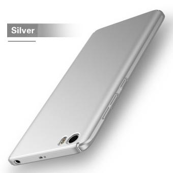 Ultra Slim PC Hard Case Cover Phone shell for Xiaomi Mi5s (Silver) - intl