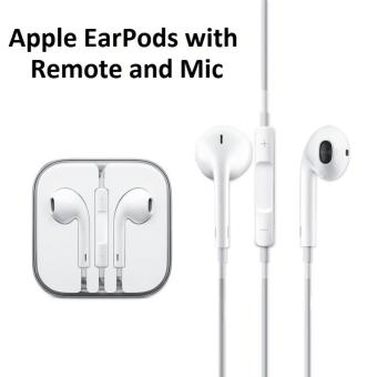 Harga EarPods/Earphones with mic and volume control compatible with most iPhone/Samsung/Xiaomi devices etc