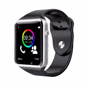 Harga New A1 Smart Watch With Sim Card slot Camera Bluetooth for Android IOS - intl