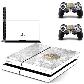 Console stickers skin decal for Playstation 4 ps4 limited white - intl