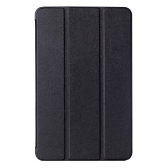 Harga Yika Folding Stand Leather Cover for Samsung Galaxy Tab A 10.1 2016 T580N (Black)
