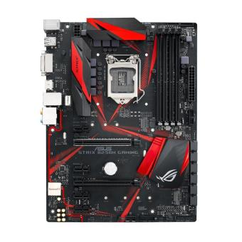 Harga ASUS ROG STRIX B250H GAMING LGA1151 DDR4 HDMI DVI M.2 ATX Motherboard with USB 3.1