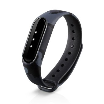 Silicone Watch Band Wrist Strap For Xiaomi Mi Band Miband 2 - intl