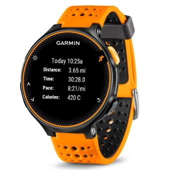 Harga Garmin Forerunner 235 (Amber/Black) with additional FREE strap